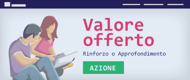 Value proposition in testa alla landing page